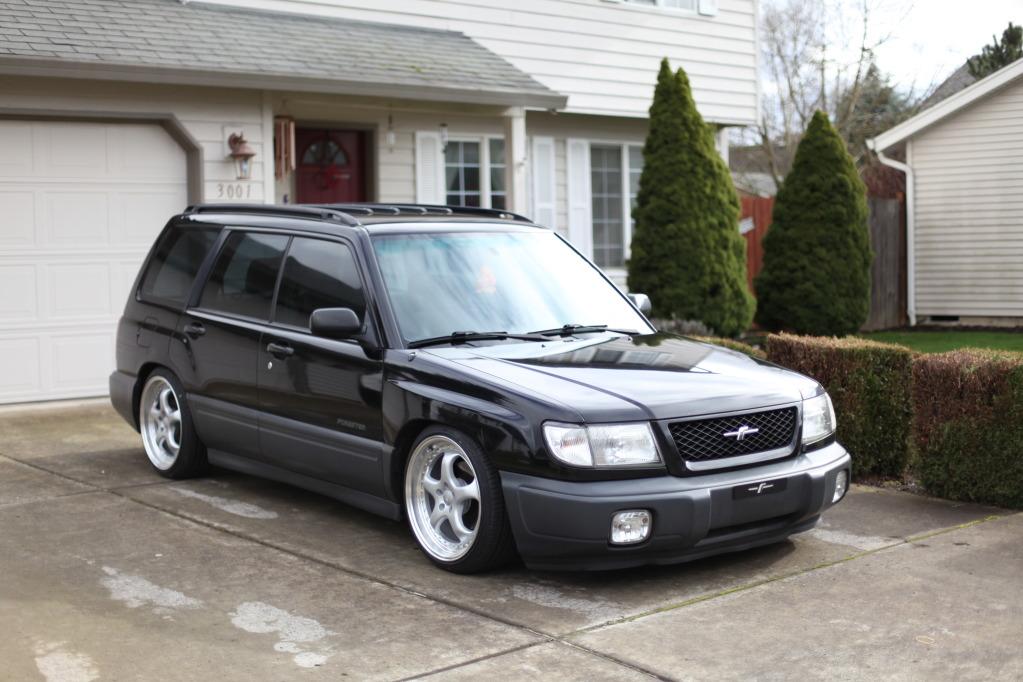 23+ 2001 Subaru Forester Slammed